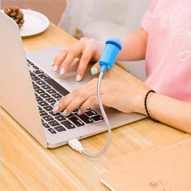 Mini Usb Fan Gadgets Flexible Cool For Laptop Pc Notebook
