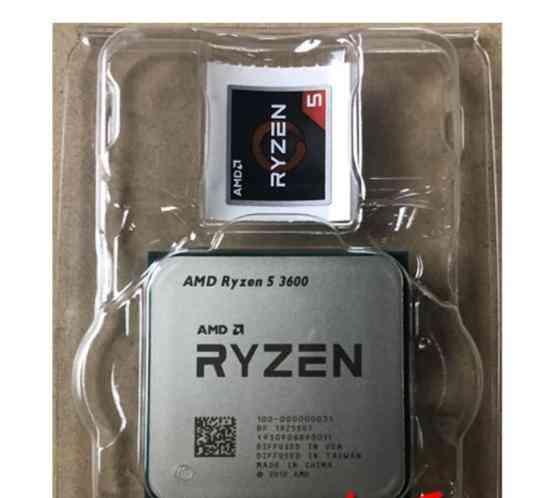 Amd Ryzen R5 3600 3.6 Ghz Six-core Twelve-thread Cpu Processor