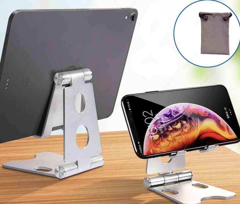 Aluminium Adjustable Fold Holder Tablet Stand For Ipad Samsung Xiaomi Tablet Holder