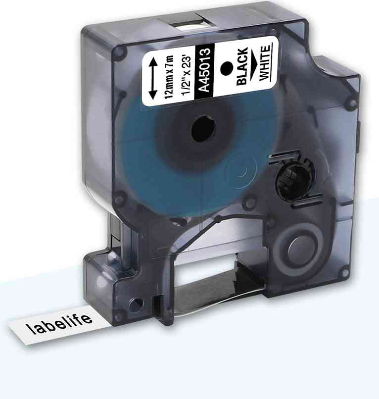 Multicolor Compatible Dymo Label Tape, Manager Maker