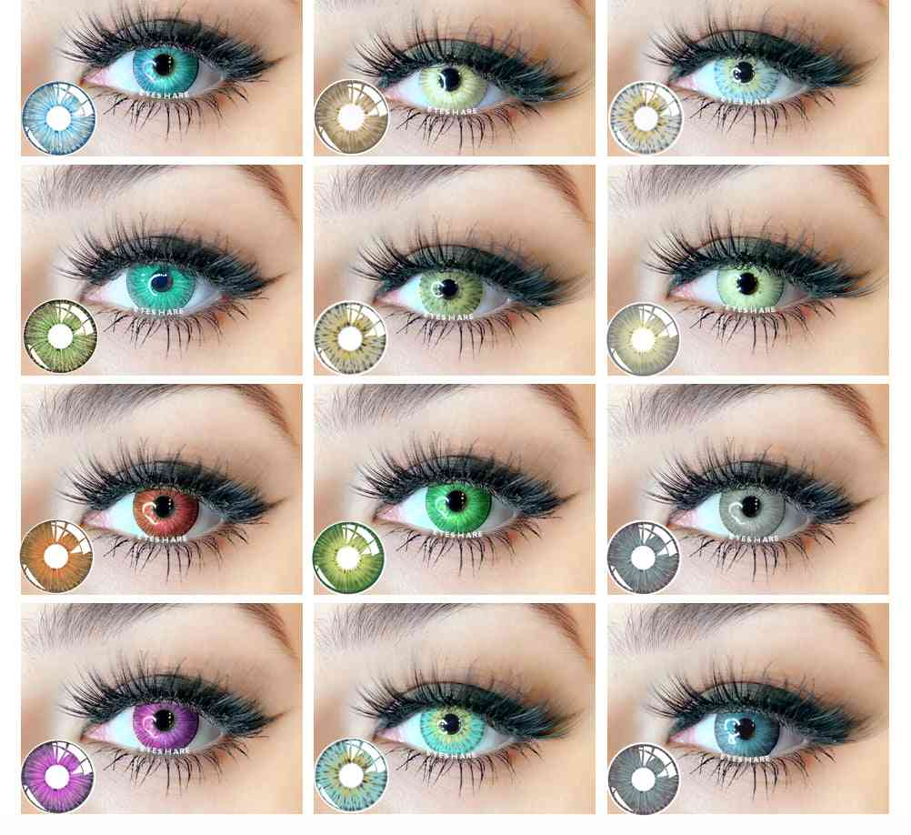 Colored Contact Lenses For Eyes, Cosplay Lense