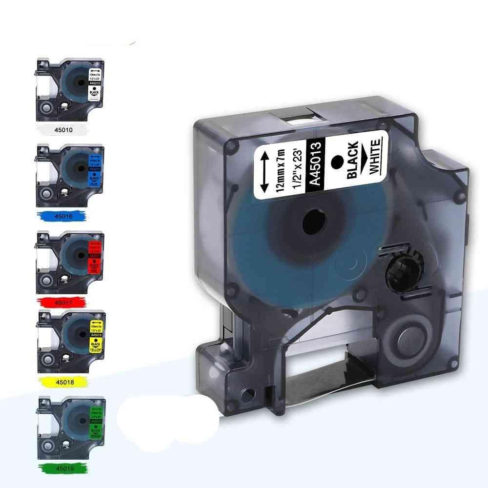 Multicolor Compatible D1 Label Tape ( Set 1)