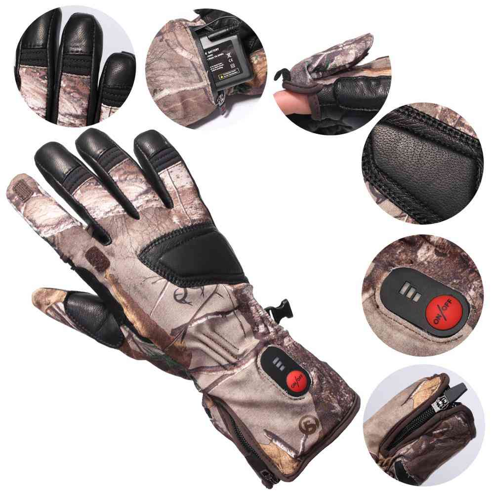 Bicycling Hunting Electric Heated Gloves