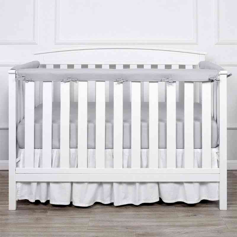 Baby Crib Rail Cover Infants Safe Teething Guard