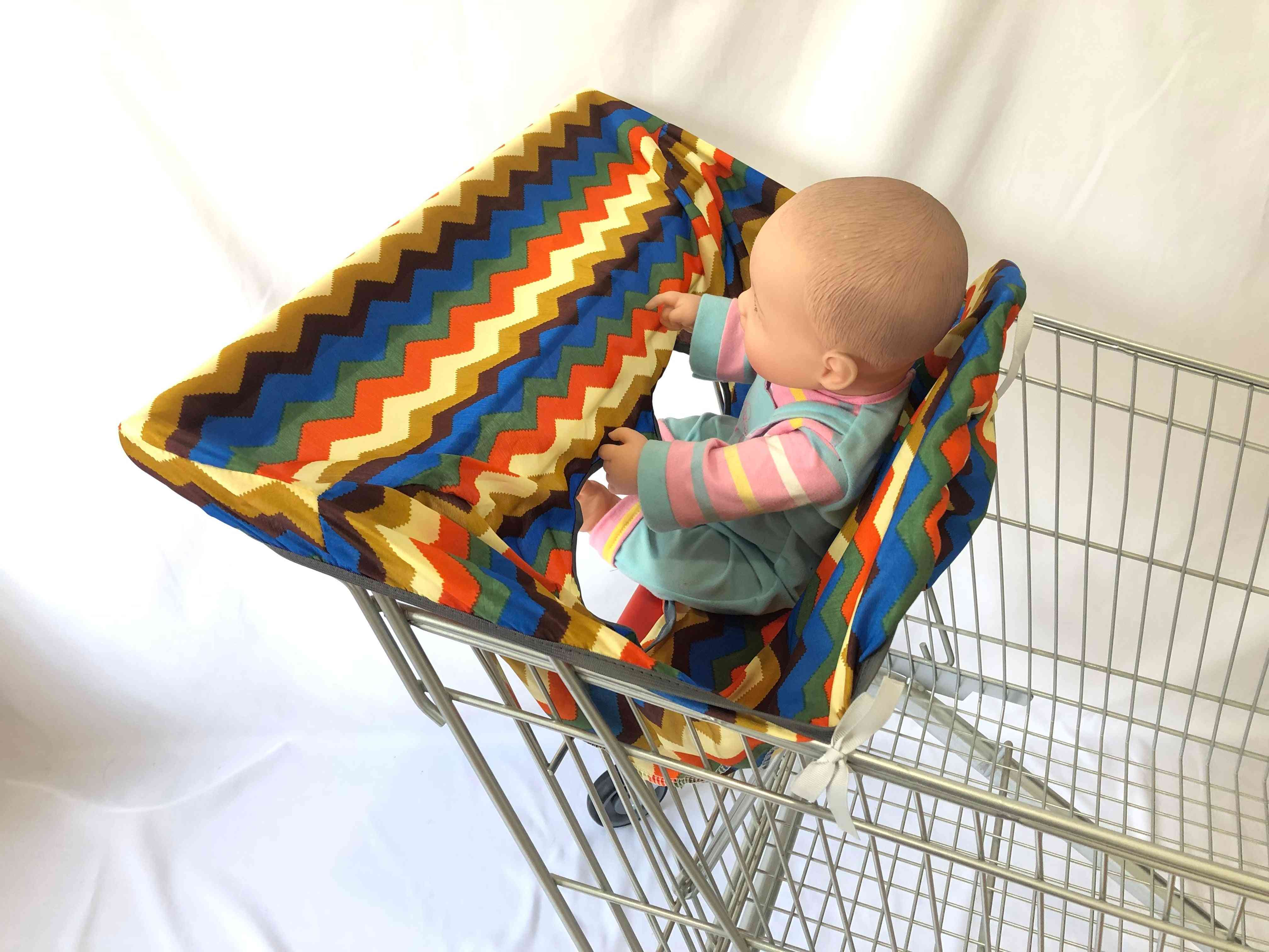Baby Kids Shopping Cart Seat Cover