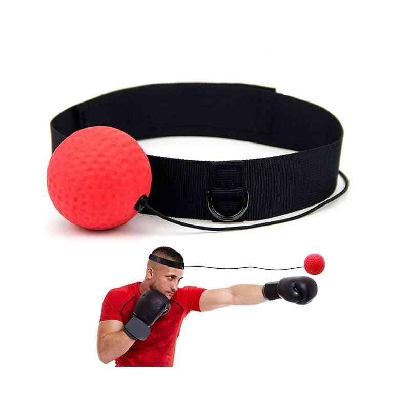 Boxing Fight Reflex Ball, Headband Punch, Punching Balls, Fitness Gym Exercise, Training Equipment