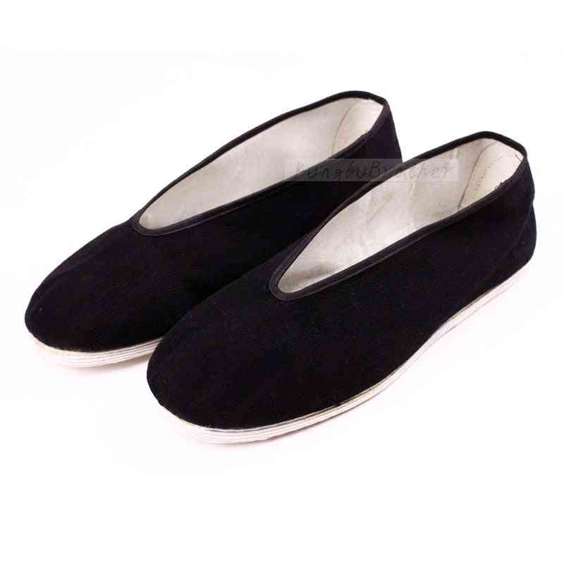 Handmade Kung Fu Shoes, Men Tai Chi Shoe, Martial Arts Equiepment