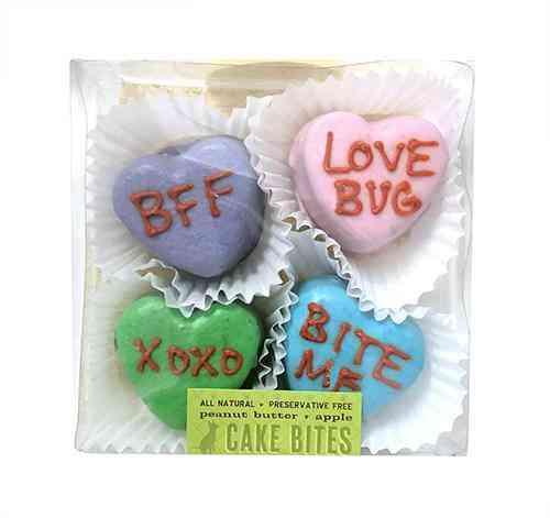 Candy Heart Cake Bites Box