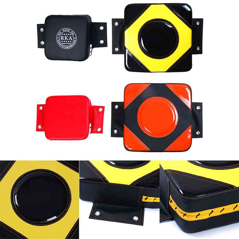 Faux Leather Wall Punching Pad, Boxing Punch Target Training Sandbag, Sports Dummy Fighter, Martial Arts