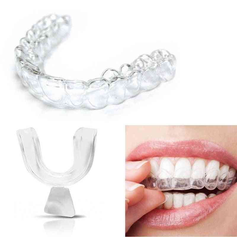 Eva Mouth Trays Teeth Protector, Night Guard, Grinding Anti Snoring, Whitening Boxing Protection