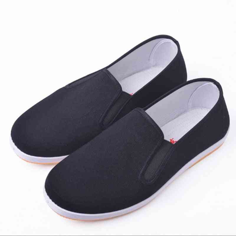 Chinese Kung Fu Shoes, Cotton Vintage Slipper, Martial Art Shoe