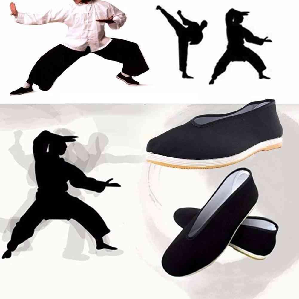 Cotton Tai-chi Shoes, Men's Traditional Kung Fu Cotton Cloth, Martial Art Casual Shoe