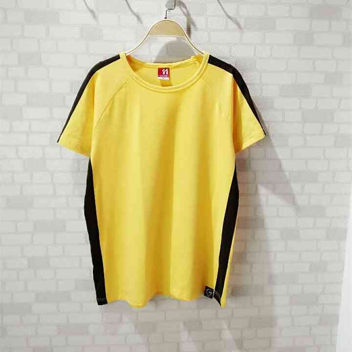 Bruce Lee Shirt, Kung Fu Cotton Sports Short Sleeves, Chinese Costume