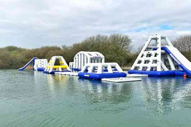 Manufacture Island Big Inflatable Water Park