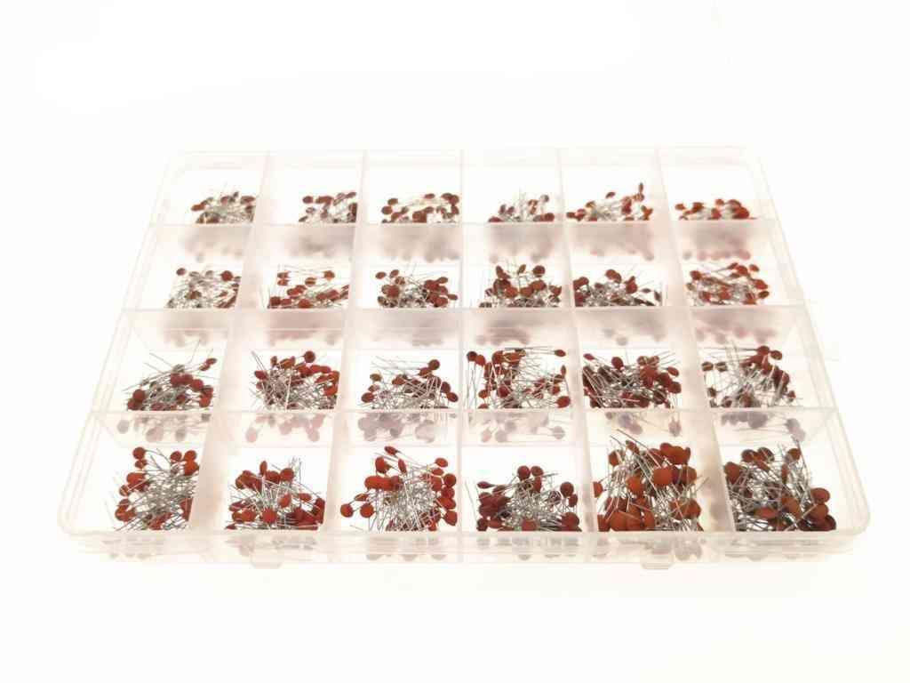 960pcs/lot Ceramic Capacitor Assortment Kit