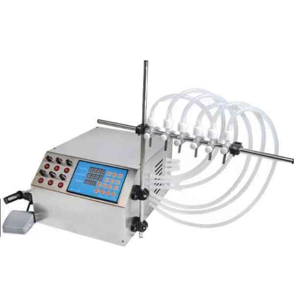 Electric Digital Control Pump Liquid Filling Machine