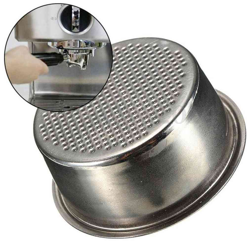 Double-cup Coffee Machine- Pressurized & Non-pressurized Filter Basket
