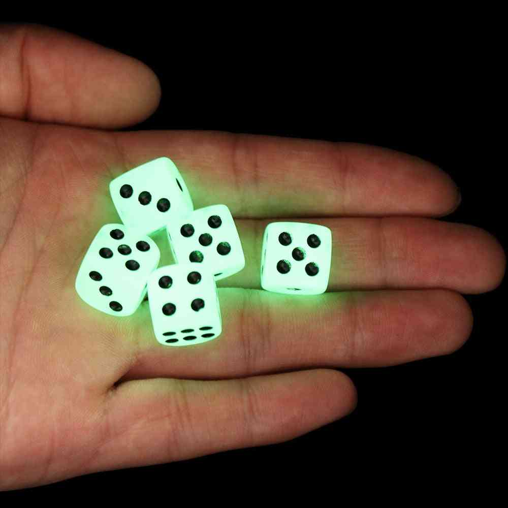 6 Sided Noctilucent Dice