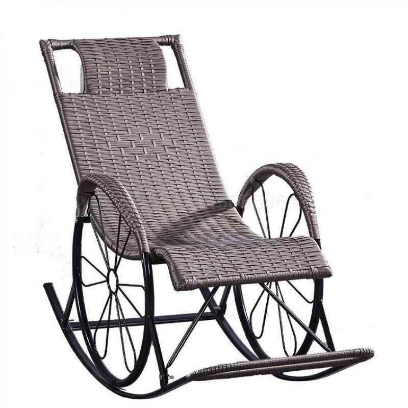 Reclining Chair, Nap Chair Balcony Family Recreational Chair, Beach Chair