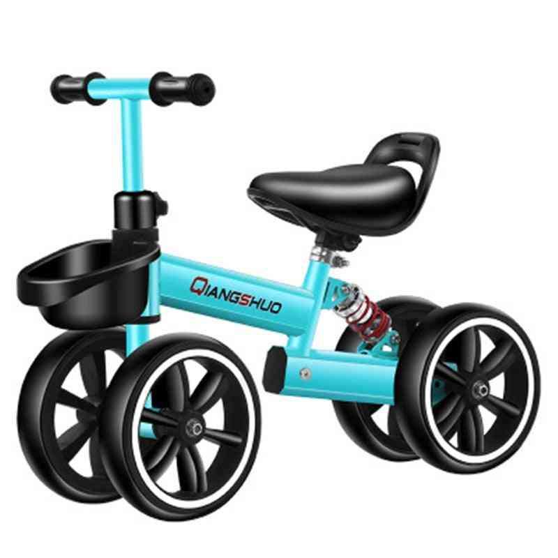 Ultralight Kids Riding Bicycle