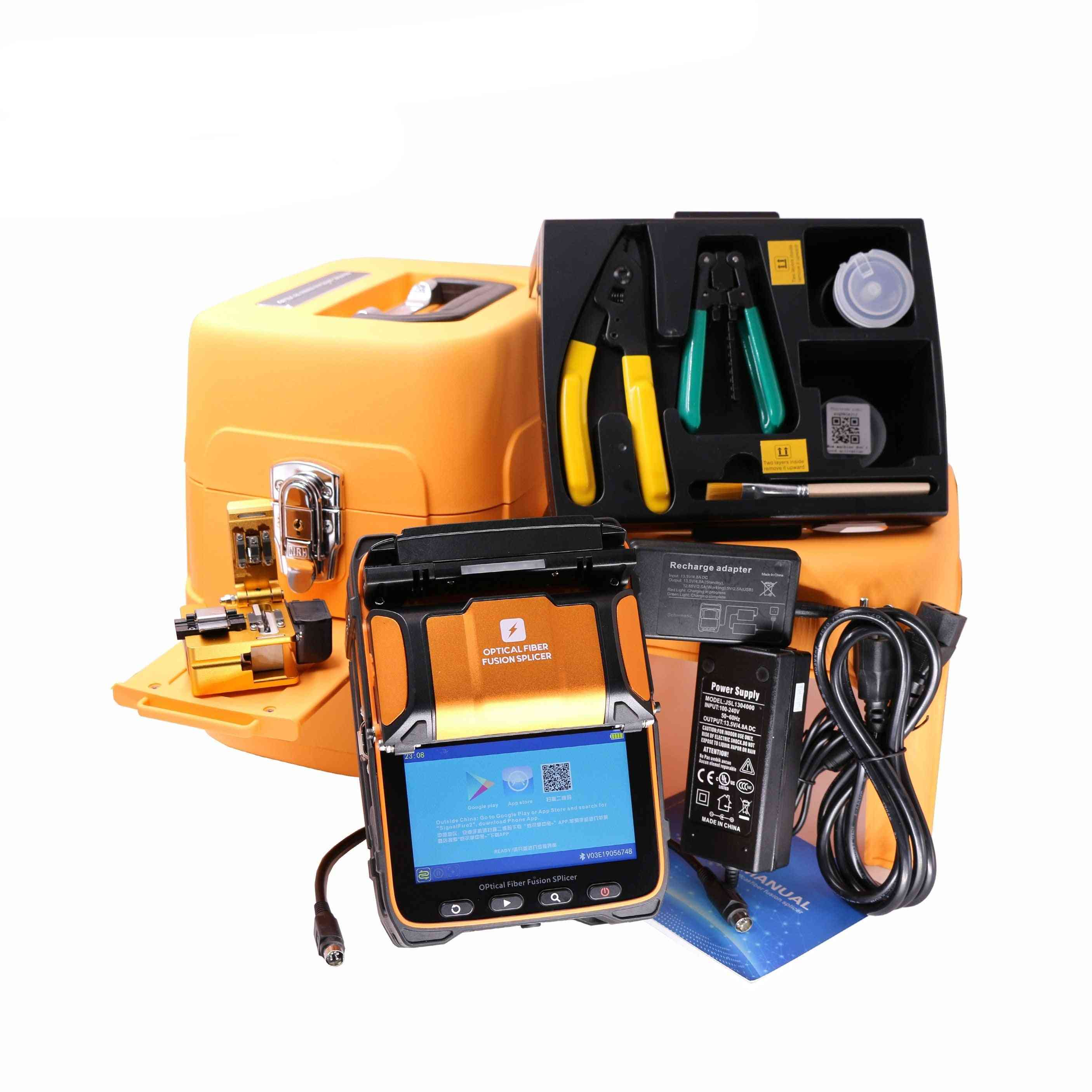 5s Ai-9 Fusion 6 Motors Splicer Machine With Vfl Opm Tool Kits