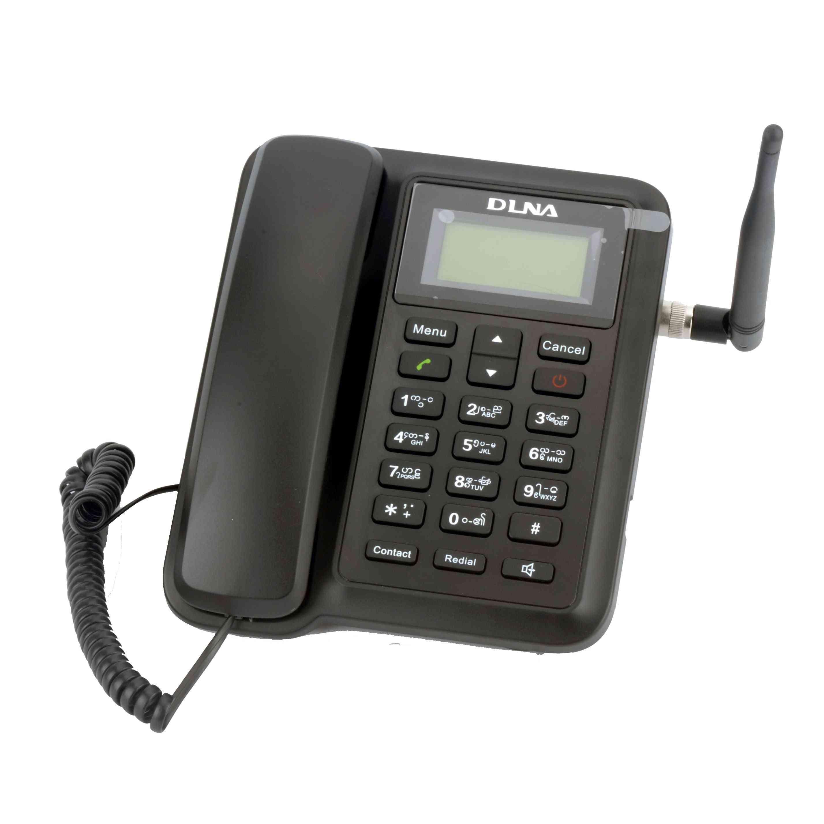Gsm 850/900/1800/1900 Mhz Fixed Wireless Phone Desktop Cordless