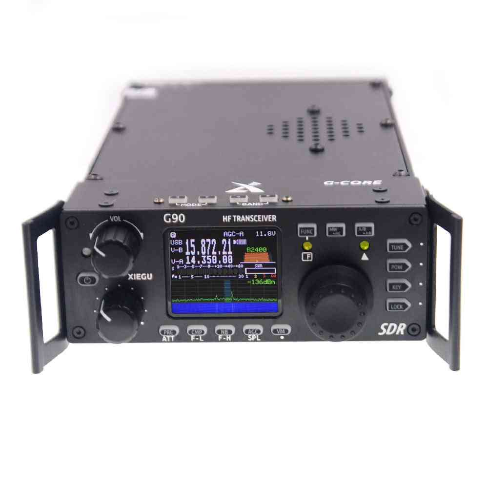 G90 Hf Amateur Radio Hf Transceiver 20w Ssb/cw/am/fm 0.5-30mhz Sdr Structure With Built-in Auto Antenna Tuner