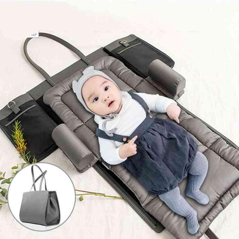 Multi-function Diaper Bag, Travel Portable Sleeping Baby Bed, Crib For Newborns