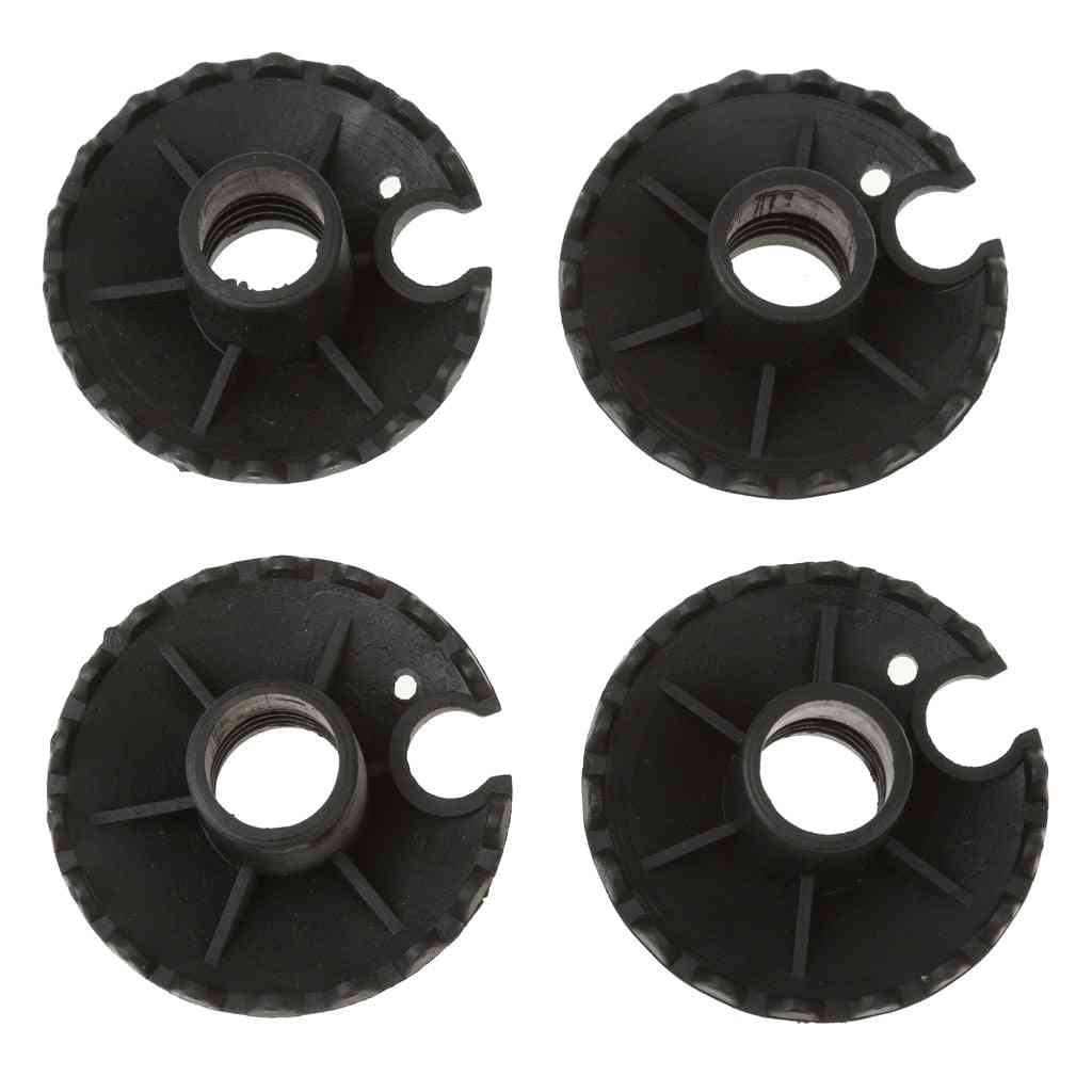 4pcs Replacement, Rubber Mud Basket For Trekking Poles, Hiking Sticks Accessories
