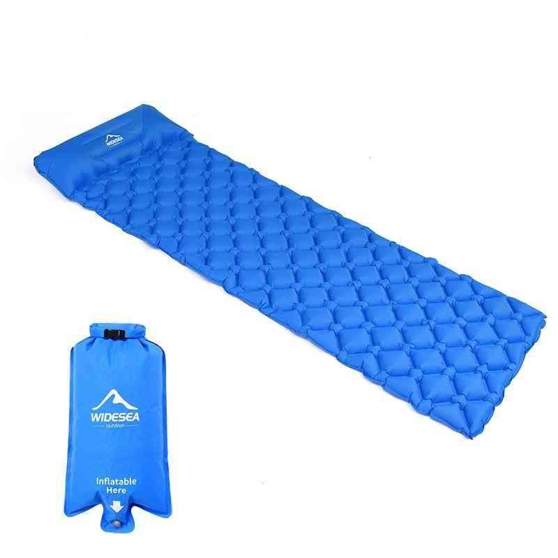 Air Mattresses, Sleeping Pad Mat, Bed Cushion Pillow For Outdoor Camping