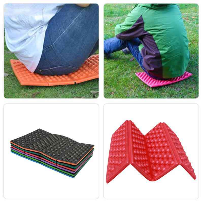 Soft Waterproof, Dual Portable, Folding Cushion, Seat Mattress Pad For Outdoor