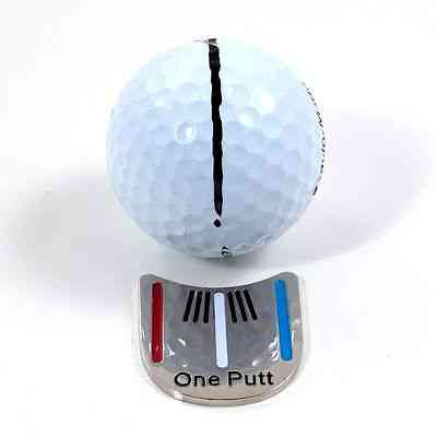 Golf Ball Mark With Magnetic Hat Clip One Putt