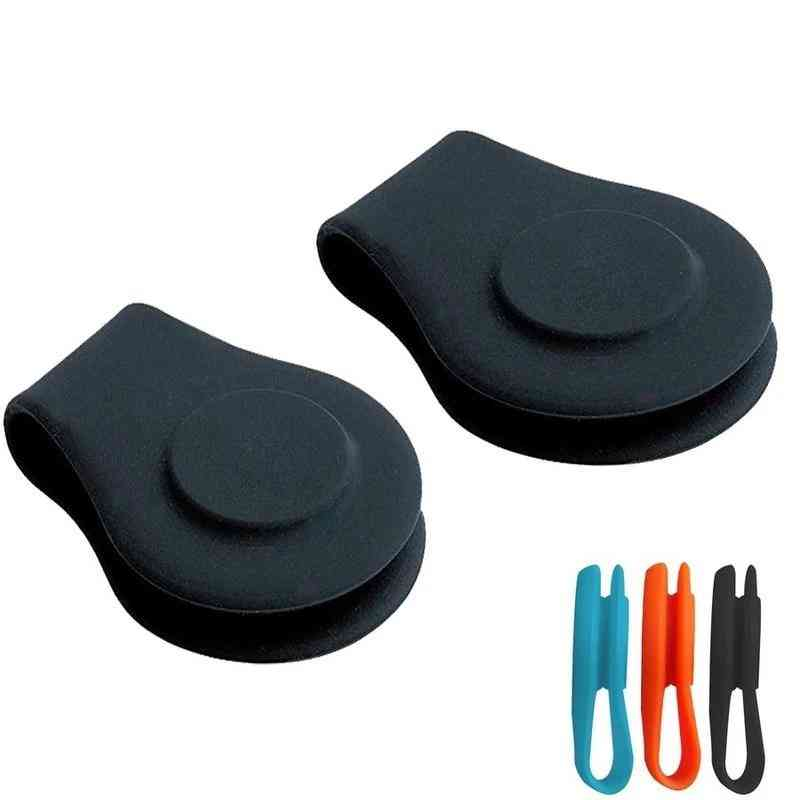 Silicone Magnetic Golf Hat Clip Ball Marker Holder