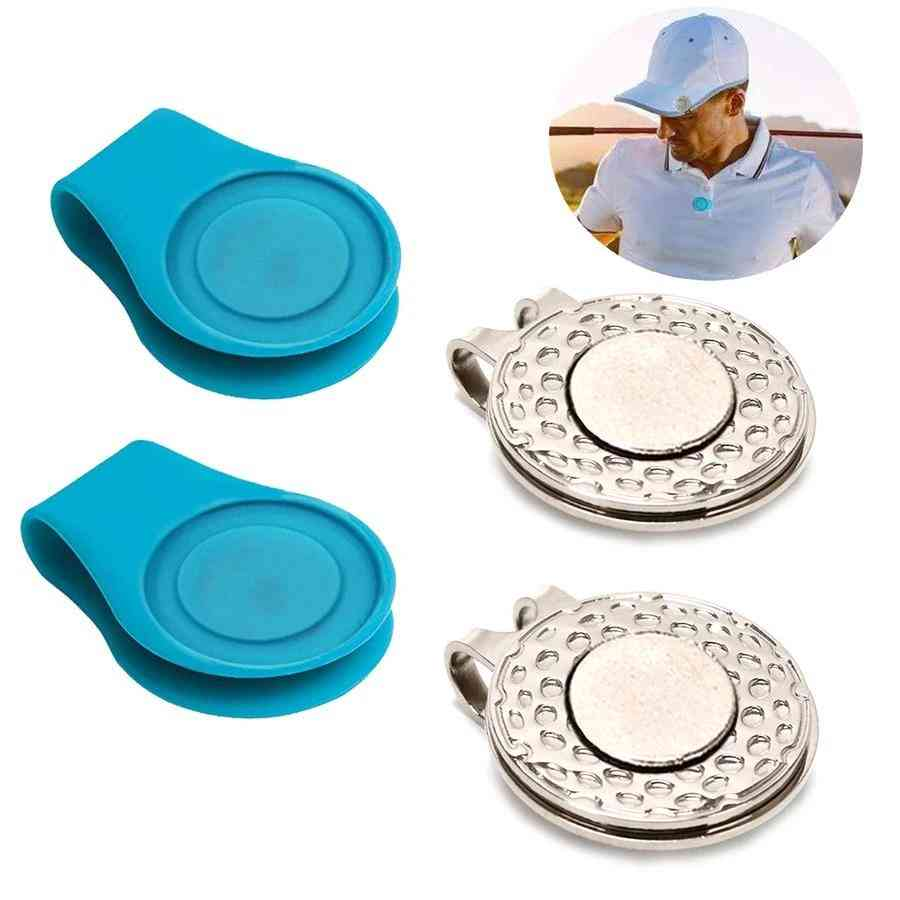 Silicone With Metal Golf Hat Clip