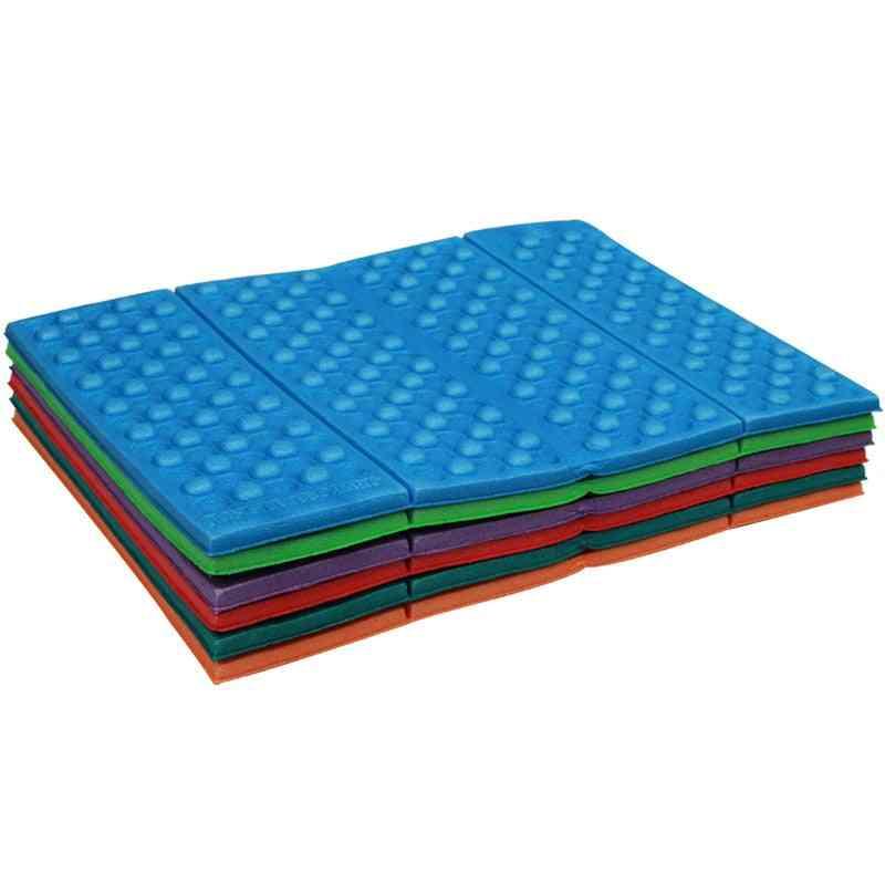 Waterproof Portable Foam Pad Mats, Cushion Folding, Hiking Seat For Outdoor Camping