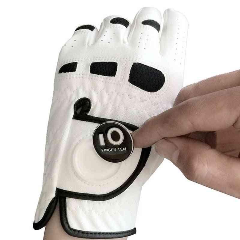 Soft Comfortable Leather Men's Golf Glove