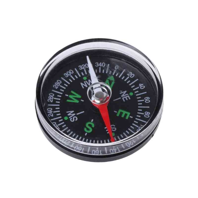 Mini Precise Compass, Practical Guider For Camping Navigation Survival, Button Compass