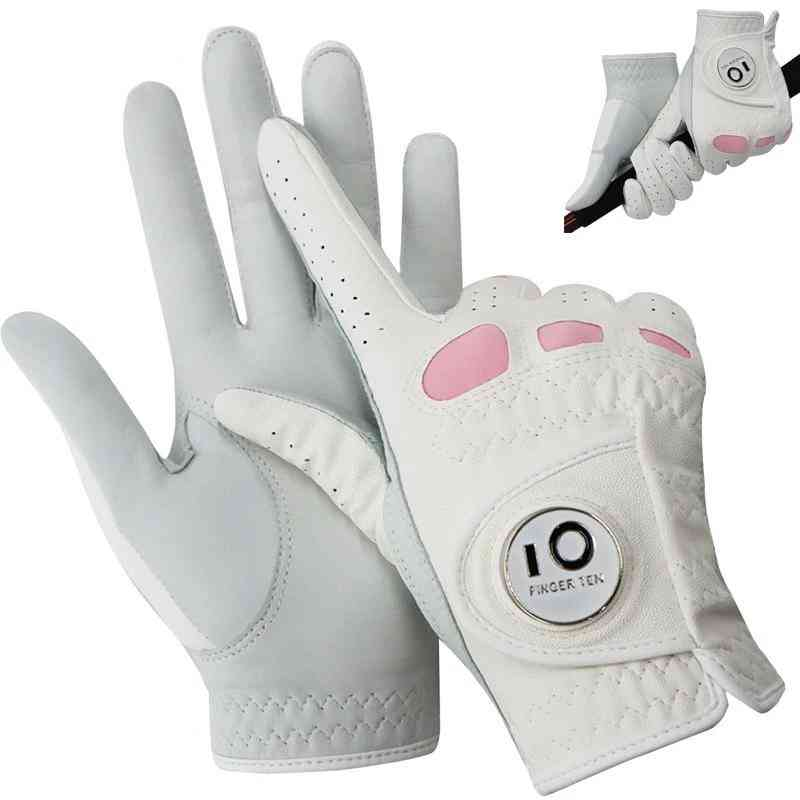 Leather Golf Gloves For  Women's