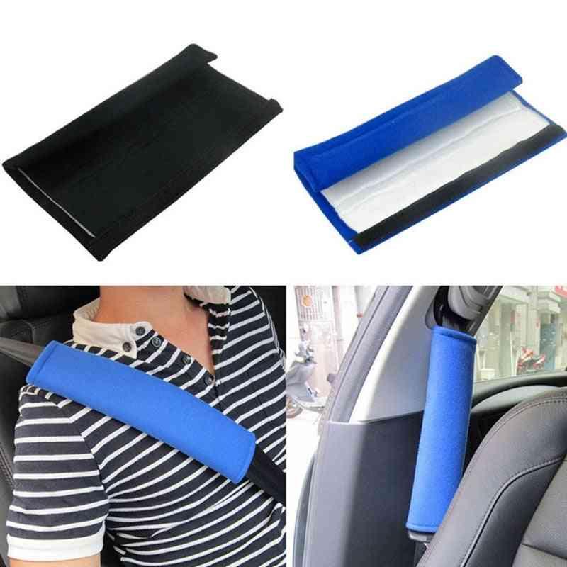 2 Pcs/set Child Car Seatbelt Plush Cover, Seat Belt Shoulder Strap Protective Cover