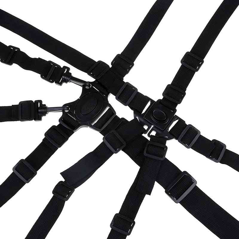 Universal Baby 5 Point Harness Safe Seat Belts For Stroller High Chair