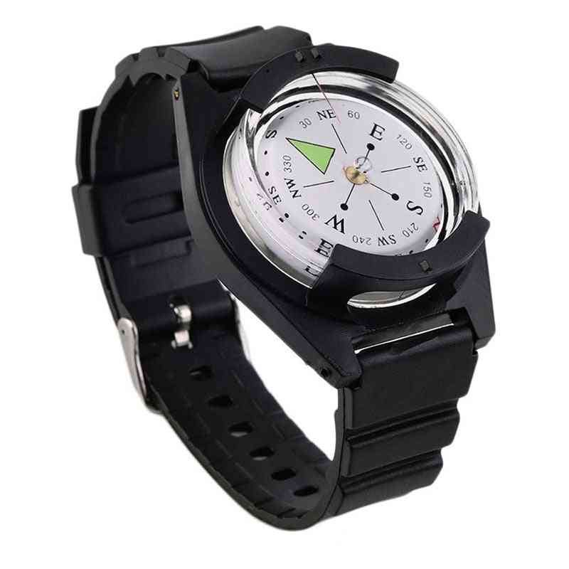 Portable Wrist, Outdoor Camping, Survival Tactical Compass Tool