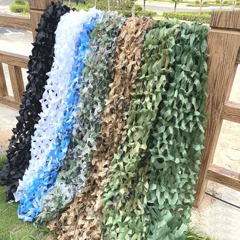 Hunting Military Camouflage Nets, Woodland Camo Netting, Camping Sun Shelter, Garden, Car Cover Tent Shade