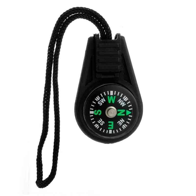 Mini Zipper Pull Compass Backpack, Bag Strap Charm