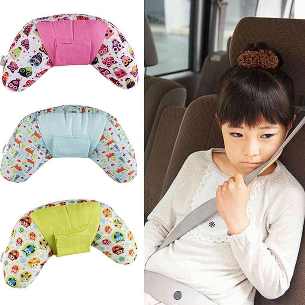 Children Car Seat Side Sleeping Neck Pillow Seat Belt Shoulder Pad