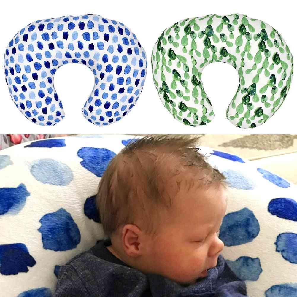 Nursing U-shaped Baby Feeding Maternity Home Neck Care, Detachable, Washable, Comfortable, Newborn Breastfeeding Pillow Cover