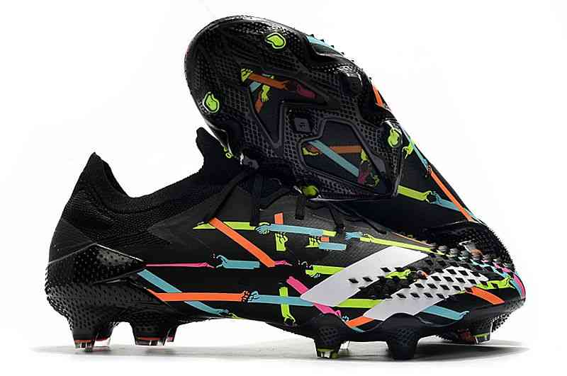 Football Boots Low Ankle Best Quality Lace-up Soccer Shoes ( Set 2 )