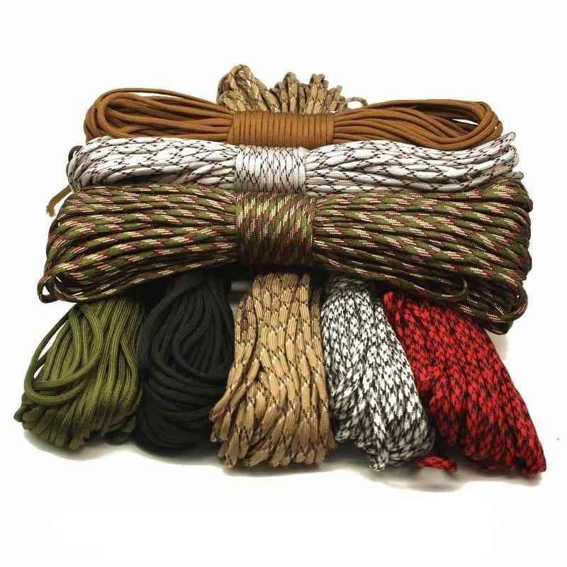 7-strands Woven, Hanging Parachute Cord, Lanyard Ropes Outdoor Tools