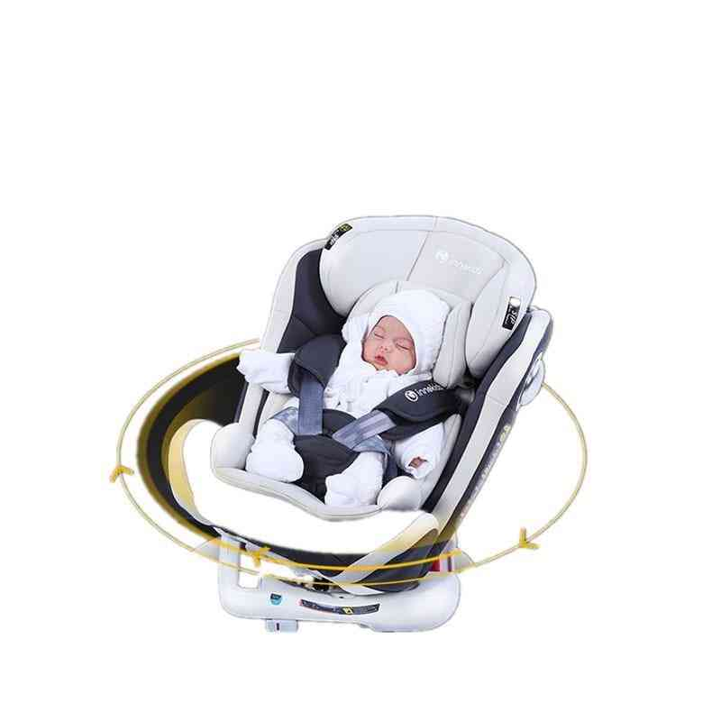 Child Car Seat For Baby Can Rotate Around Can Sit Isofix Interface Eu 360 Degree Rotation