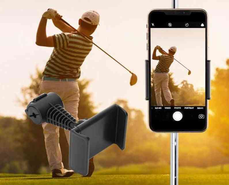 Cell Phone Clip Stand Bracket Support For Alignment, Record Phone Holder Training Aids