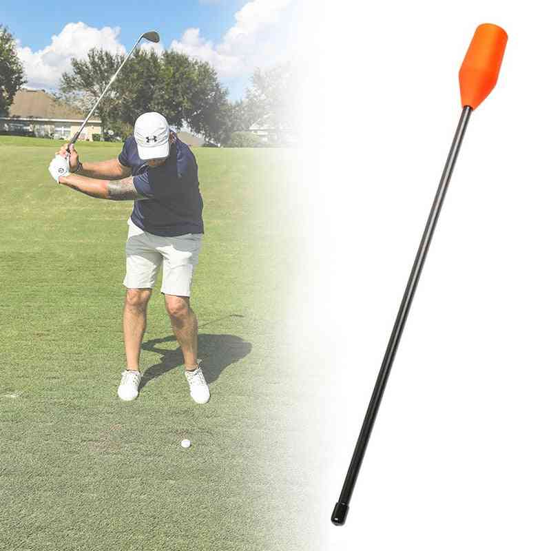 Chip Stick Golf Training Aid, Anti-flip Swing Path Chipping Trainer For Indoor Outdoor